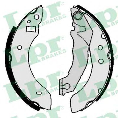 Комплект тормозных колодок LPR арт. 04600