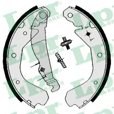 Комплект тормозных колодок LPR арт. 04640