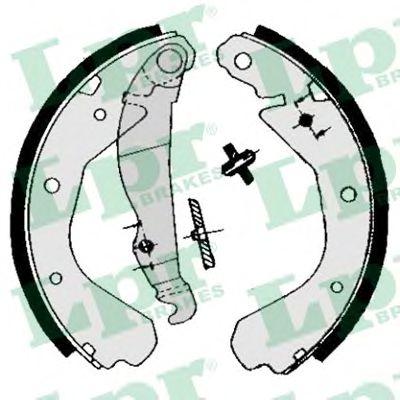 Комплект тормозных колодок LPR арт. 04660