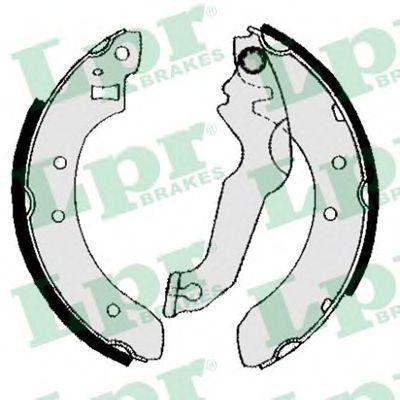 Комплект тормозных колодок LPR арт. 04800
