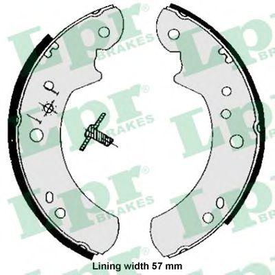 Комплект тормозных колодок LPR арт. 05060B