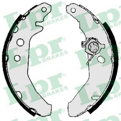 Комплект тормозных колодок LPR арт. 05740