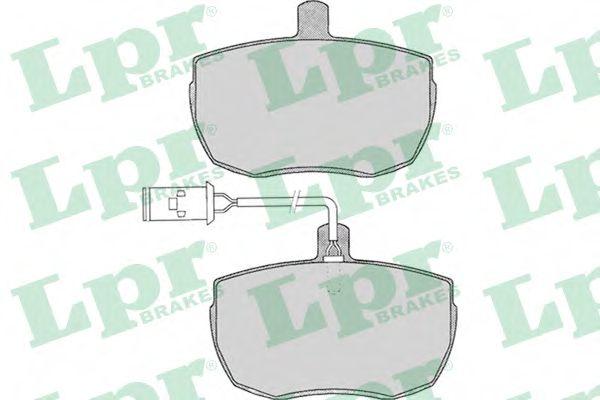 Колодки гальмівні дискові LPR 05P014