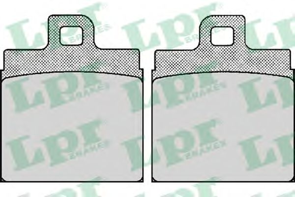 Комплект тормозных колодок, дисковый тормоз LPR арт. 05P029