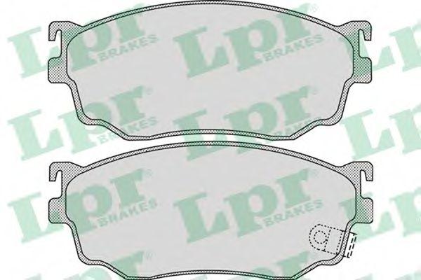 Комплект тормозных колодок, дисковый тормоз LPR арт. 05P1046