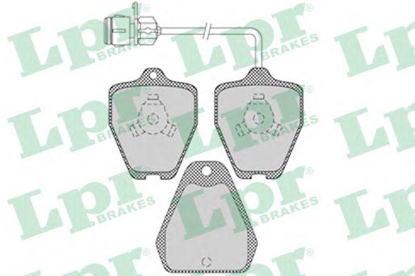 Комплект тормозных колодок, дисковый тормоз LPR арт. 05P1118