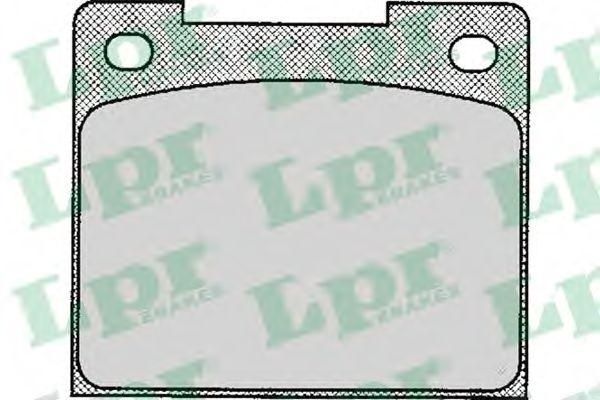 Комплект тормозных колодок, дисковый тормоз LPR арт. 05P113