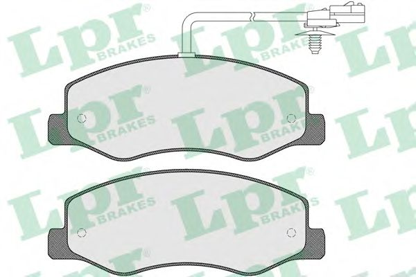 Комплект тормозных колодок, дисковый тормоз LPR арт. 05P1570