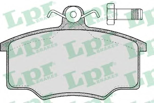 Комплект тормозных колодок, дисковый тормоз LPR арт. 05P188