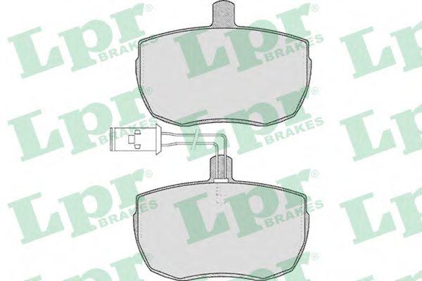 Колодки гальмівні дискові LPR 05P433