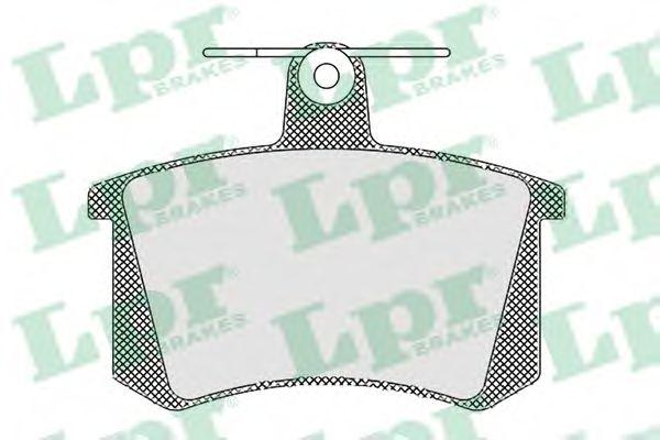 Комплект тормозных колодок, дисковый тормоз LPR арт. 05P440