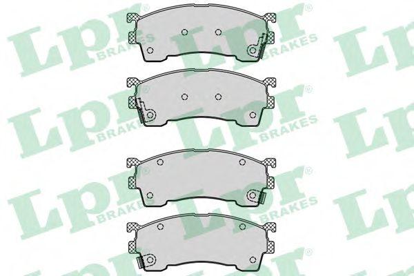 Комплект тормозных колодок, дисковый тормоз LPR арт. 05P559