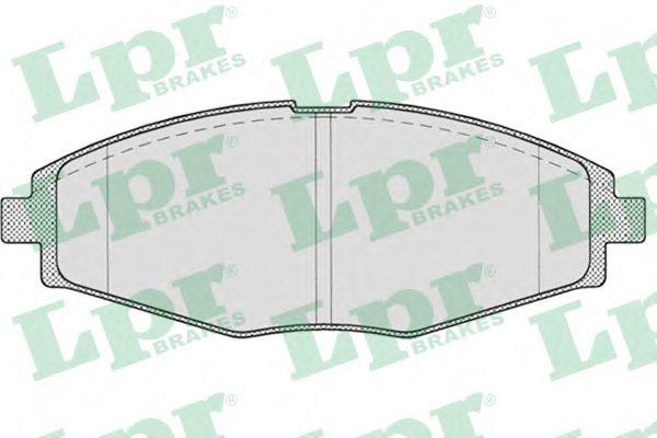 Тормозные колодки Ланос 1.5/Sens/Матиз передние LPR LPR арт. 05P693