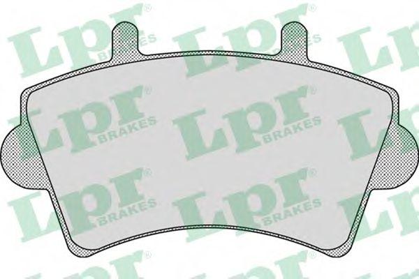 Комплект тормозных колодок, дисковый тормоз LPR арт. 05P884