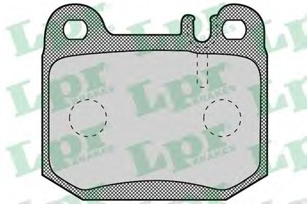 Комплект тормозных колодок, дисковый тормоз LPR арт. 05P901