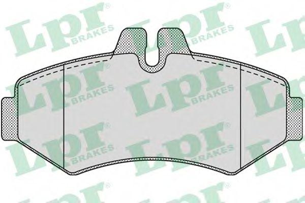 Комплект тормозных колодок, дисковый тормоз LPR арт. 05P956