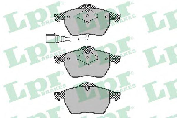 Комплект тормозных колодок, дисковый тормоз LPR арт. 05P969
