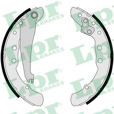 Комплект тормозных колодок LPR арт. 06850