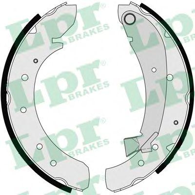 Комплект тормозных колодок LPR арт. 07120