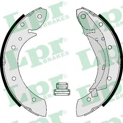 Комплект тормозных колодок LPR арт. 07165