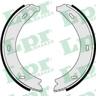 Комплект тормозных колодок, стояночная тормозная система LPR арт. 07320