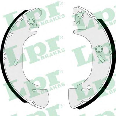 Комплект тормозных колодок LPR арт. 07410