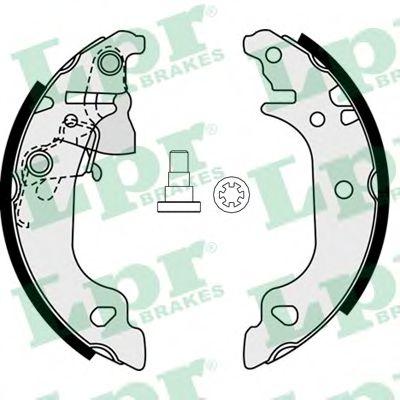 Комплект тормозных колодок LPR арт. 07920