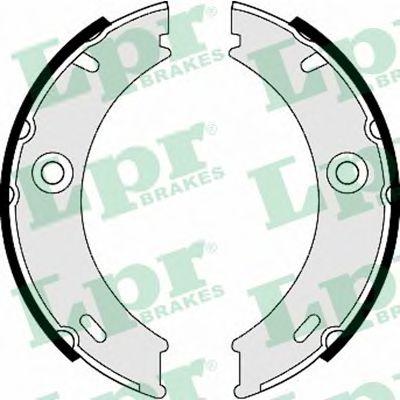 Комплект тормозных колодок, стояночная тормозная система LPR арт. 07970