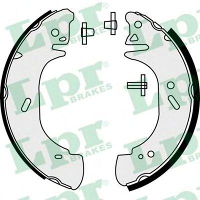 Комплект тормозных колодок LPR арт. 08440