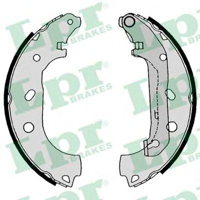 Комплект тормозных колодок LPR арт. 08550