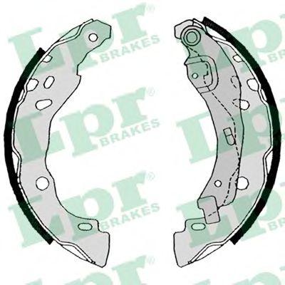 Комплект тормозных колодок LPR арт. 08630