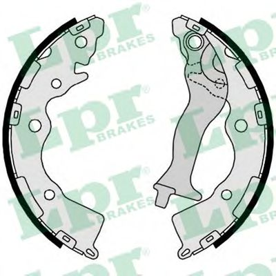 Комплект тормозных колодок LPR арт. 09350