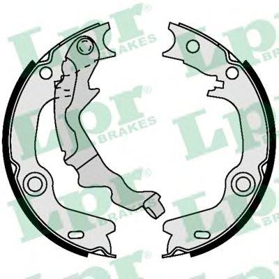 Комплект тормозных колодок, стояночная тормозная система LPR арт. 09440