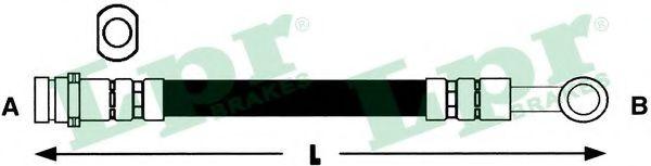 Тормозной шланг LPR арт. 6T46363