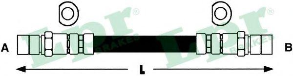 Тормозной шланг LPR арт. 6T46118