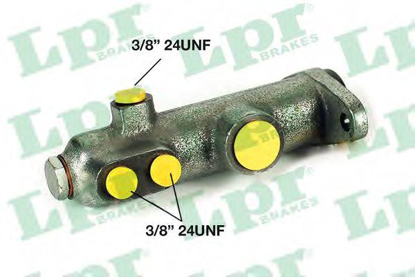 Главный тормозной цилиндр LPR арт. 1104