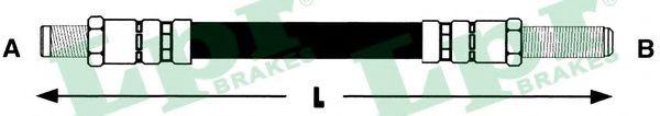 Тормозной шланг LPR арт. 6T46112