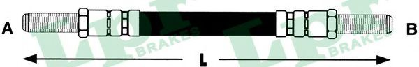 Тормозной шланг LPR арт. 6T46374