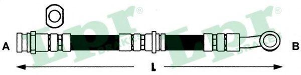 Тормозной шланг LPR арт. 6T46437