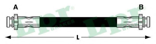 Тормозной шланг LPR арт. 6T48031