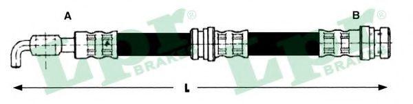 Тормозной шланг LPR арт. 6T48215