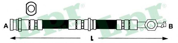 Тормозной шланг LPR арт. 6T46281