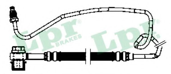 Тормозной шланг LPR арт. 6T48260