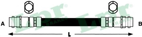 Тормозной шланг LPR арт. 6T46735