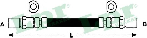 Тормозной шланг LPR арт. 6T46378