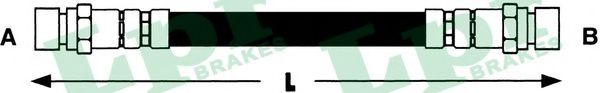 Тормозной шланг LPR арт. 6T46430