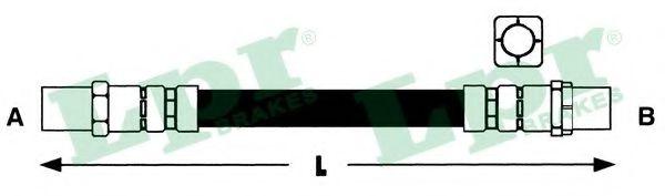 Тормозной шланг LPR арт. 6T46314