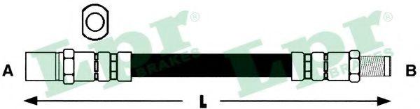 Тормозной шланг LPR арт.