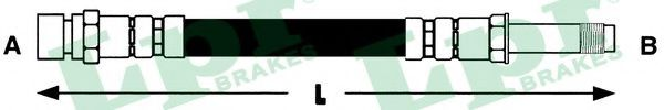 Тормозной шланг LPR арт. 6T46736