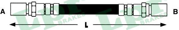 Тормозной шланг LPR арт. 6T46445